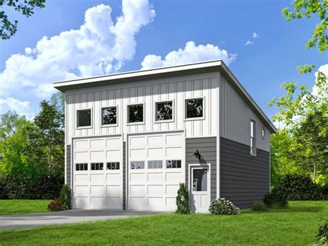 modern garage plans two car garage plans unique 2 car garage plan with loft