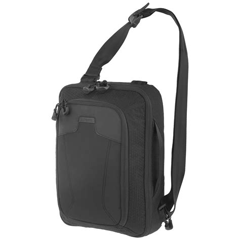 Serut All In One Sling Bags maxpedition valence sling bag black shoulder bags 1st