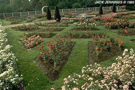 Formal Garden - gladney rose garden