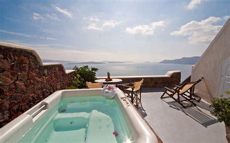 Shower Room by Santorini Suites Delfini Hotel Oia Suites Cave Suite Santorini