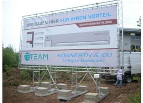 Baustellenschild Konstruktion by Bauschilder Bauschilder