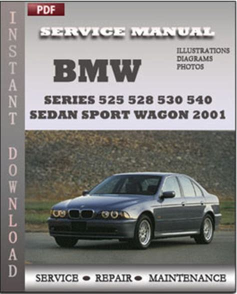 auto repair manual free download 2001 bmw 530 electronic throttle control bmw 5 series 525 528 530 540 sedan sport wagon 2001 service manual download