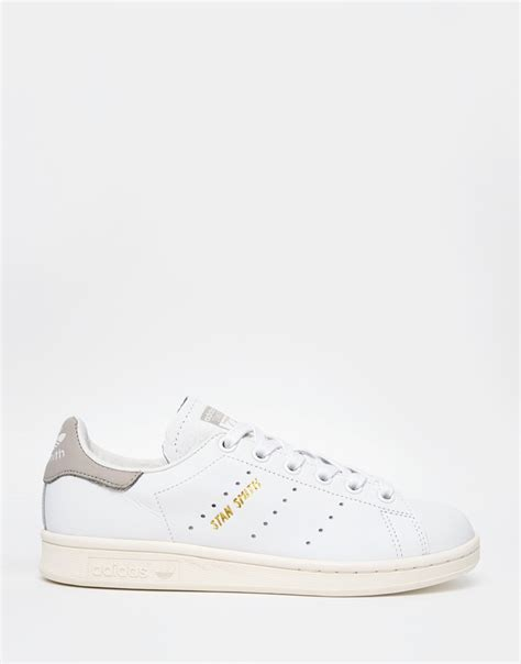 Adidas Stan Smith White adidas originals originals white stan smith trainers in white lyst