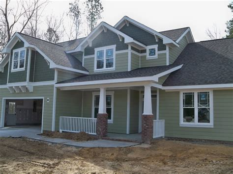 exterior materials for homes fiber cement siding craftsman exterior raleigh by