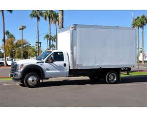 2016 ford f 550 box truck for sale mesa az