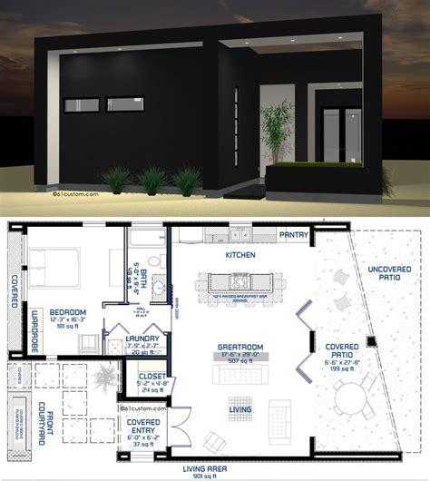 ultra modern live work house plan 61custom 38 best modern house plans 61custom images on pinterest