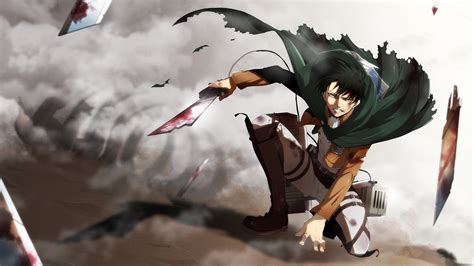 Levi Attack on Titan Anime Wallpaper #20473