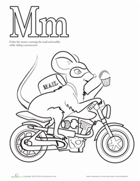 coloring pages mouse and the motorcycle color the mouse on a motorcycle coloring page