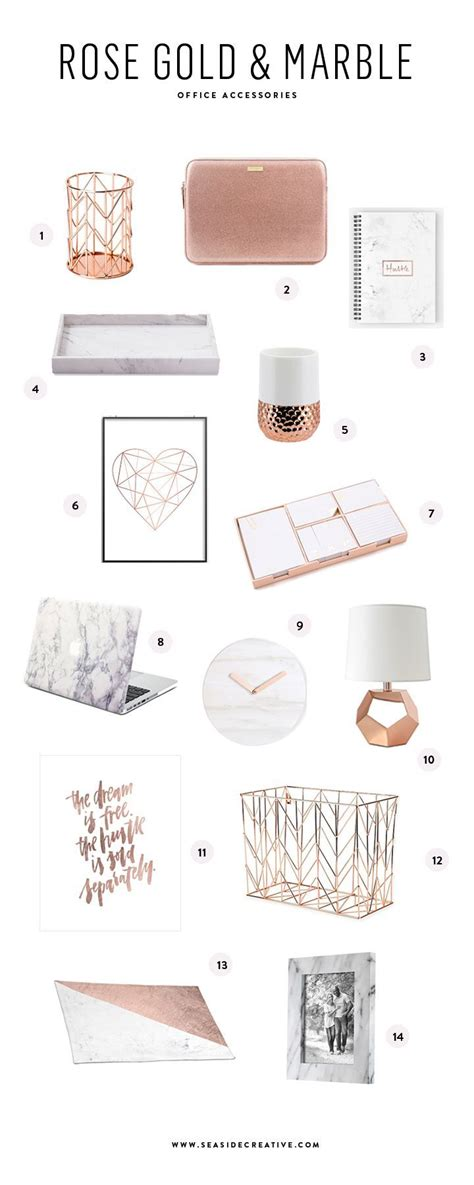 rose gold desk accessories best 25 offices ideas on pinterest office room ideas