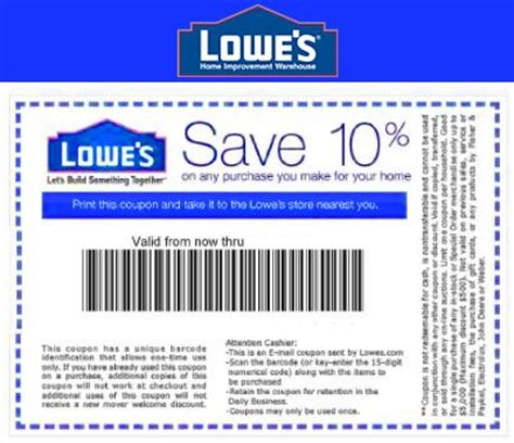 best 25 lowes printable coupon ideas on lowes