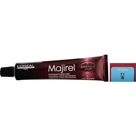 L Oreal Professional Majirel 8 31 Wbb Permanent Hair Color 50ml Hair And Supplier L Oreal Professionnel Majirel Ionene G Incell Permanent Creme Color 6 1 6b