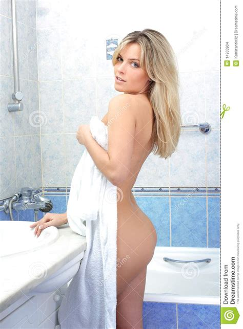 girls undressing in bathroom woman with towel bathroom stock photo image of adult