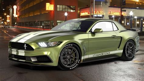 Ford 2016 Notchback by Ford Mustang Notchback By Chris Cyrulewski News Top Speed