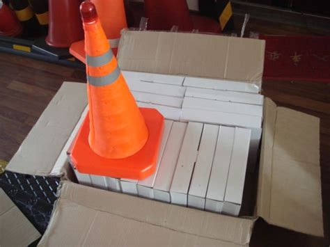 collapsible traffic cone collapsible safety cone easy to