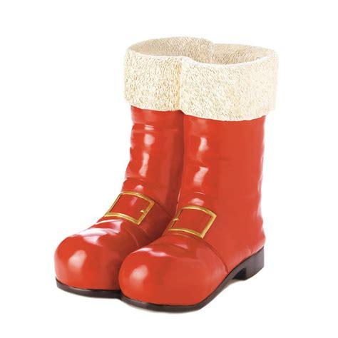 santa red boots decorative vase wholesale at koehler home