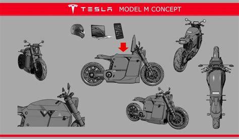 Tesla Model M Tesla Model M Motorcycle Concept Dpccars