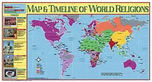 religions of the world the religion of ancient mesopotamia books map timeline of world religions poster social studies