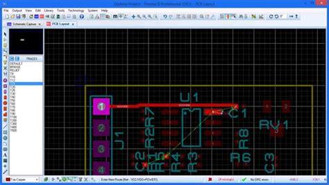 proteus tutorial  started  proteus pcb design