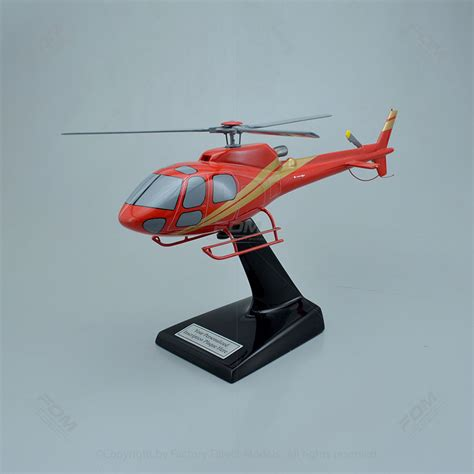 Home Interiors And Gifts Inc Airbus H125 Scale Model Helicopter