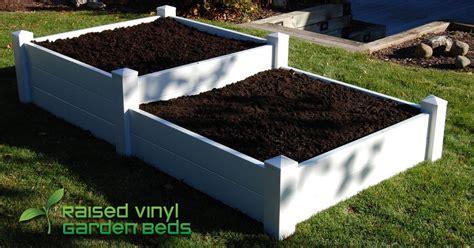 vinyl raised garden beds 28 images raised vinyl garden