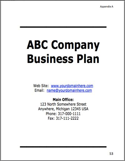 run a comprehensive business planning guide for mothers books woods make business plans exles guide
