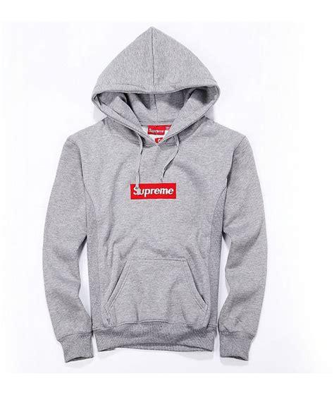 Supreme Logobox Hoodie Grey Replica supreme quot box logo classic quot hoodie gray