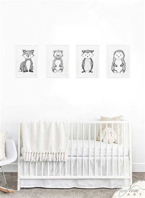 Black And White Nursery Decor Black And White Nursery Black And White Nursery Decor