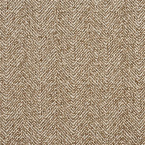 Upholstery Fabric by E733 Taupe Herringbone Woven Textured Upholstery Fabric