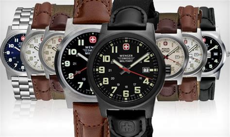 Swiss Army 5846 Black Blue Leather 55 for a wenger swiss groupon