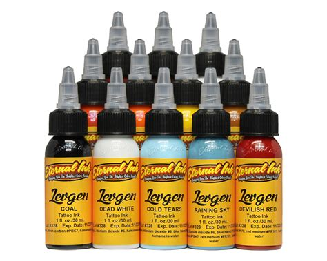 eternal tattoo ink sets eternal levgen set eternal ink sets specials