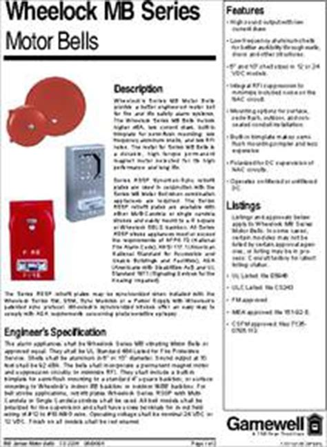 transistor g10 mb g10 24 r datasheet wheelock mb series motor bells