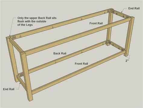 Easy To Build Tv Stand Buildsomething Com Tv Stand Building Plans Free