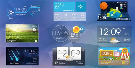 weather clock widget android aplikasi ramalan cuaca terbaik android