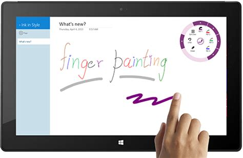 how to use sketch app onenote just made your touch more powerful office blogs