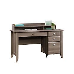 Office Depot Computer Desks by Sauder Shoal Creek Collection Transitional Wood Desk With
