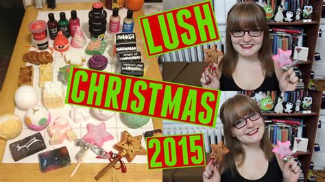 lush christmas products  lush wow christmas gift youtube