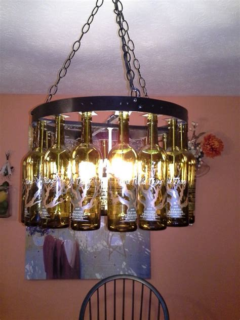 Wine Bottle Chandelier Wine Bottle Chandeliers