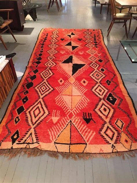 large vintage moroccan berber wool rug for sale at 1stdibs