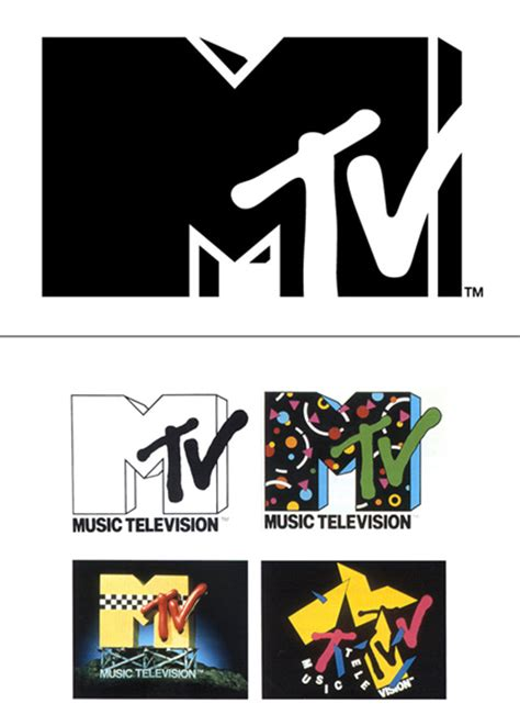 Spray Painted Letters - mtv logo design and history of mtv logo