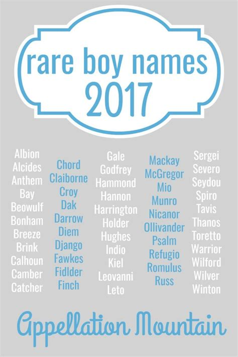 names for boys boy names 2017 the great eights appellation mountain