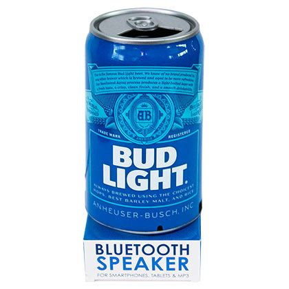 buy bud light official bud light bluetooth can speaker buy