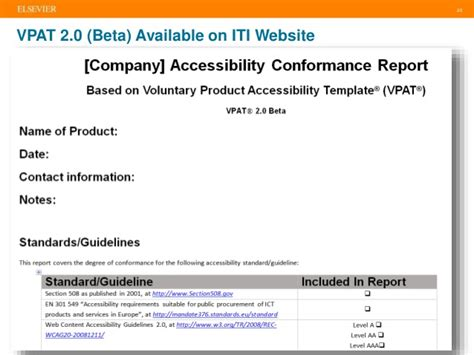 voluntary product accessibility template section 508 printable voluntary product accessibility template section