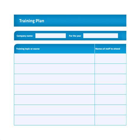 training log template document templates