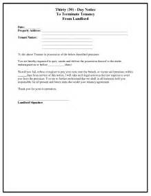 Renters 30 Day Notice Template by 30 Day Notice To Landlord Template Best Business Template