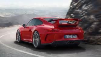Porsche 911 Gt3 New Porsche 911 Gt3 Debuts With 500hp And Stick Shift