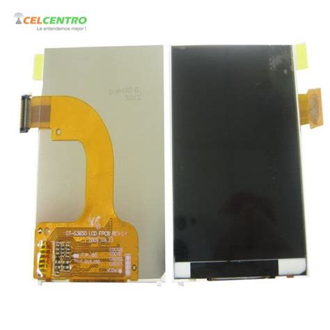 Lcd Samsung Galaxi Corby S3650 lcd pantalla samsung s3650 corby s3653 celcentro electronics technology co limited