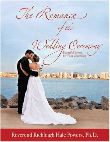 Wedding Ceremony Book by The Of The Wedding Ceremony Book Rev