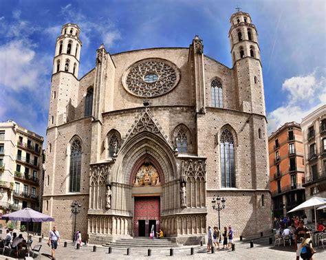catedral del mar cathedral 8425340756 bas 237 lica de santa mar 237 a del mar barcelona la gu 237 a de historia del arte