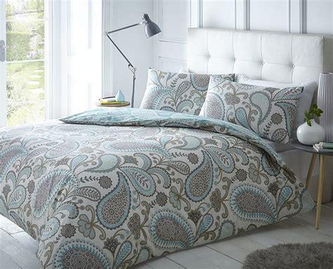 fundas de edredones pieridae paisley azul juego de cama de funda de edred 243 n y