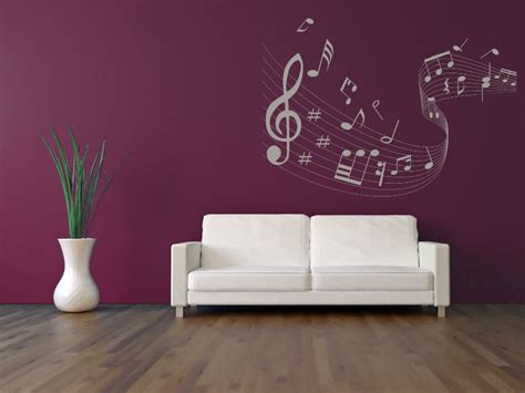 musical note wall stickers quaver led musical wave wall stickers musical notes wall